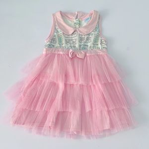 🌼3 /$20 Pink Tiered Skirt Tulle Dress